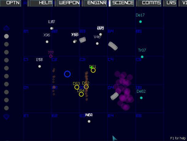 Artemis overview map
