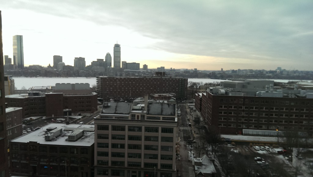 Boston in the morning
